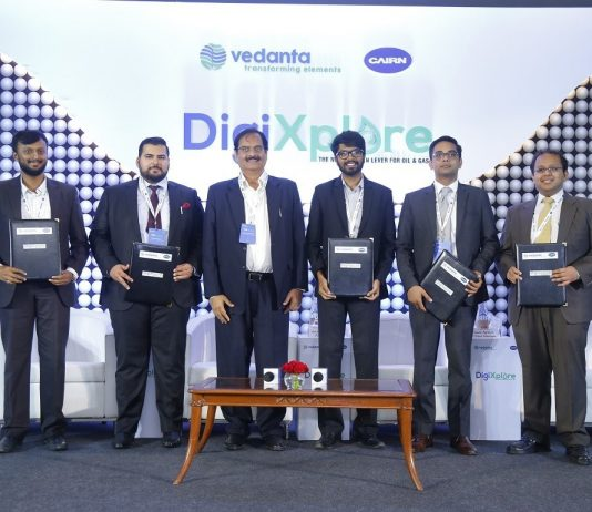 Cairn Oil & Gas Leads the Way in Digitalization of Indian E&P Sector; Signs MoU With 5 Digital Start-ups in DigiXplore 2019