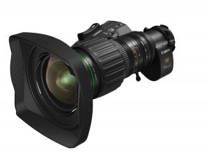 Canon Announces New Wide-Angle Portable Zoom Lens Designed For 4K Broadcast Cameras
