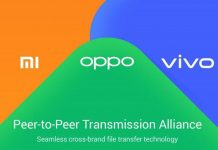 OPPO, vivo and Xiaomi align to expand Peer-to-Peer Transmission Alliance