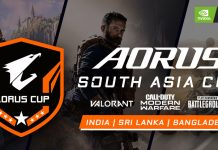 AORUS Team Up With NVIDIA for a South Asia Tournament in Valorant, Call of Duty, and PUBG